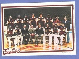 1980-81 Topps Pin-Ups Cleveland Cavaliers [NrMt-Mint] - $1.00
