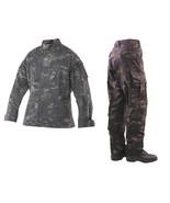Multicam Black Camo Tru-Spec Tactical Response Pants & Shirt - £117.95 GBP+