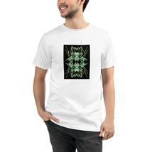 Sci-Fi White Unisex Organic T-Shirt Eco Friendly Sustainable Men Women - $31.68+