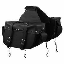Big Motorcycle Saddlebags with Outside Pockets - $99.00