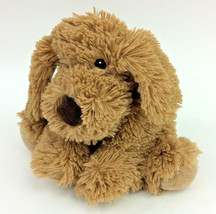 "First Impressions Brown Puppy Dog Baby Soft Toy Furry Shaggy Macys 10"" Plush  - $9.74"