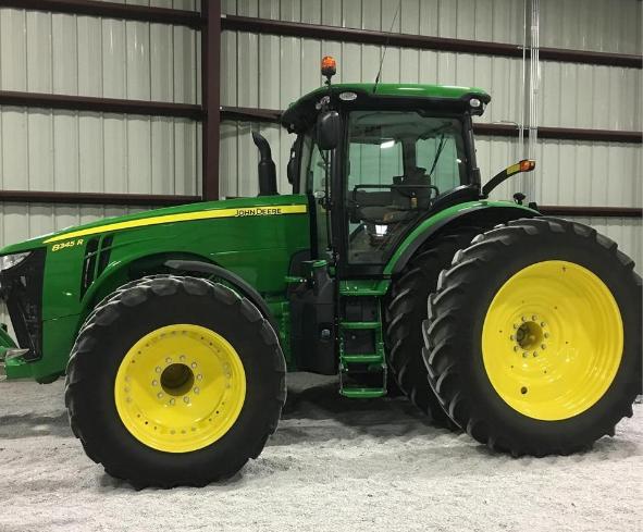 2015 JOHN DEERE 8345R For Sale In Plymouth, Nebraska 68424