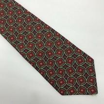"""Tommy Hilfiger Men's Tie 100% Silk Geometric Star L 57"""" W 3 3/4"""" - $13.43"""