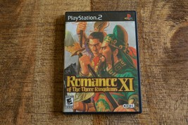 Romance of the Three Kingdoms XI (Playstation 2, 2007) PS2 Video Game LOT OF 2 - $38.69