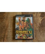 Romance of the Three Kingdoms XI (Playstation 2, 2007) PS2 Video Game LO... - $38.69