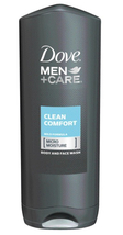 Dove Men+Care Body Wash and Face Wash Clean Comfort 13.5 oz - $8.49