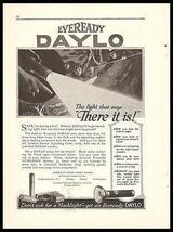 Eveready Daylo Flashlight 1917 Ad Hardware Tools Accessories Advert - $14.99