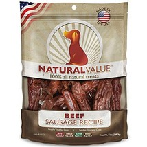 Loving Pets Natural Value All Natural Soft Chew Beef Sausages For Dogs, ... - $20.87