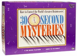 University Games 30 Second Mysteries Board Game - $57.30