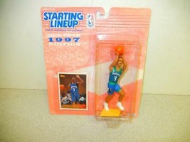 STARTING LINEUP -NBA - 1997 MINNESOTA TIMBERWOLVES STEPHON MARBURY NEW- ... - £2.88 GBP