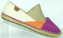 Sperry Top Sider Katama Color Block Canvas Espadrille Loafer Shoes Size 9 M - $43.35