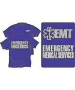 EMERGENCY MEDICAL SERVICES REFLECTIVE T-SHIRT 100% Cotton - EMS EMT PARA... - $19.75+