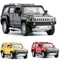 Hummer H3 1:32 Scale Diecast Metal Model Car Toy Red Black Yellow White ... - $39.99
