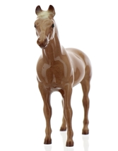 "Hagen-Renaker Miniature Ceramic Horse Figurine Thoroughbred ""Silky Sullivan"" image 11"