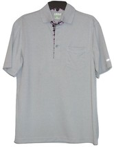 Men's Izod Gray Multi Polo Golf Shirt Size S New MSRP $52.00 - $14.99