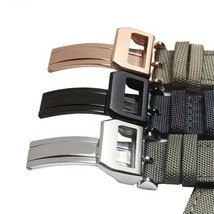 Breathable Watch Straps For IWC Watch Woven Nylon Canvas Durable Sport W... - $33.49+