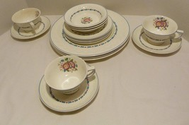 Wedgwood Evenlode Corinthian Fine China 16 Pieces Made in England - $34.98