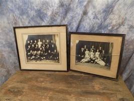 1908 09 Team Photos Central Westminster Football Basketball Sports Athletic - $70.00