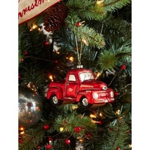 Melrose International Truck Ornament, Set of Six