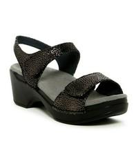 DANSKO Sonnet Black Shimmer Women's Sandals sz 41, 10 women - $30.78
