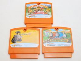Lot of 3 VTECH v.smile v.motion game cartridges - Wall-E, Action Mania, ... - $12.82