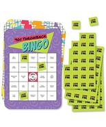 Big Dot of Happiness 90's Throwback - Bar Bingo Cards and Markers - 1990... - $14.65