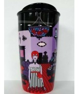 Starbucks Anna Sui Double Wall Ceramic Mug Coffee Cup Boutique New - $29.37