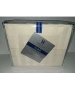 Wamsutta Pimacott Ivory 500 Thread Count Stripe Dual cal King Sheet Set - $98.99