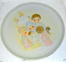 Precious Moments Come Let Us Adore Him E-5646 Plate in box - $19.75