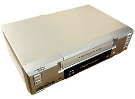 Sanyo VWM-710 VCR 4 Head Hi-Fi Stereo VHS Player Video Recorder No Remote Used - $44.36