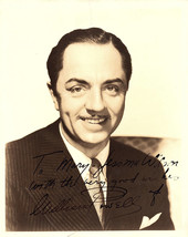 William Powell Vintage Autographed Autograph Signed Hollywood Film Movie... - $349.99