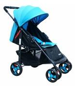 ADELINA Designer Sporty Lightweight Stroller BLUE Baby Strollers Travel ... - $117.81
