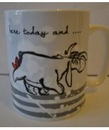 "Disney Eeyore Coffee Mug ""Here today and gone tomorrow"" by Enesco  - NEW - $12.31"
