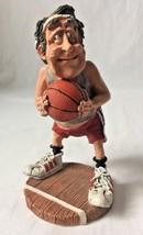 Doug Harris The Hoopster Figurine Old Man Basketball Player Russ Berrie 100694 - $24.95