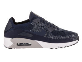 Nike Men's Air Max 90 Ultra 2.0 Flyknit College/Navy/College/Navy Running Shoe image 2