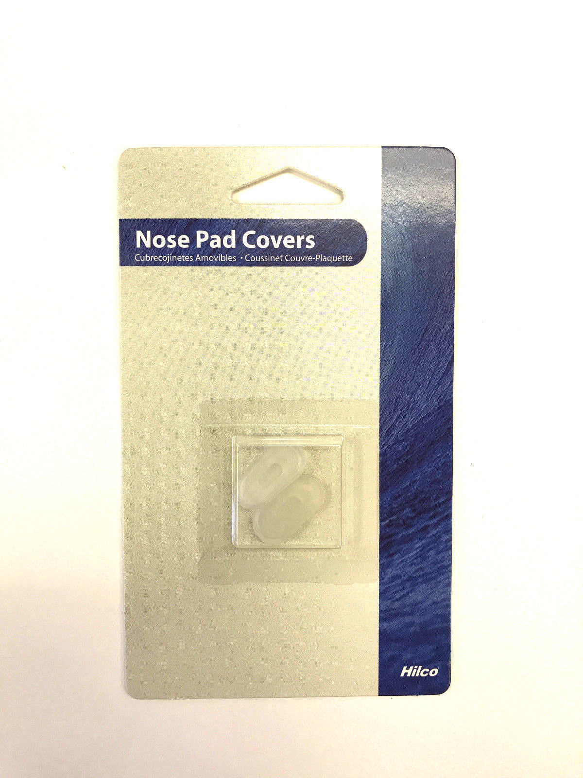 Nose Pad Covers Silicone Pads Eyewear Sunglass Comfort Soft Clear 19mm Slip On