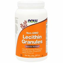 Now Foods Lecithin Granules Non-GMO, 2 lbs (907 g) - $32.99