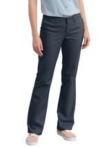 Dickies Women 18R Stretch Twill Pants Slim Fit Boot Cut Midrise New - $18.30