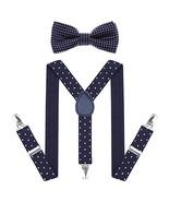 Child Kids Suspenders Bowtie Set - Adjustable Suspender Set for Boys and... - $8.91