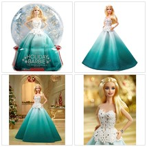 Barbie Doll 2016 Dress Aqua Long Skirt Bodice Bracelet 15th Birthday Par... - $34.43