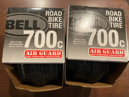 Bell Road Bike Tire 700c 700x35c Anti Puncture Air Guard Lot Of 2 - $39.59