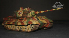 King Tiger Production Turret Panzer Kampfwagen VI Tiger II 1:35 Pro Buil... - $247.50