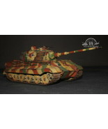 King Tiger Production Turret Panzer Kampfwagen VI Tiger II 1:35 Pro Buil... - $247.50
