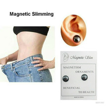 Magnetic Slimming Earrings Slimming Patch Lose Weight Magnetic Health Je... - $3.92