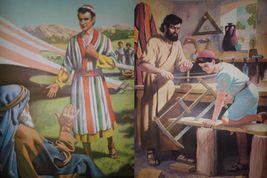 Vintage Religious Posters Church 50's 60's Jesus Bible Stories 18x24 15pcs  image 7