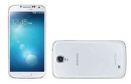 Samsung Galaxy S4 16GB 4G LTE SHV-E300 (I9500) Unlocked Smartphone White image 3