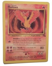 Pokemon Card - Moltres - (27/62) Fossil Set Rare ***NM*** - $5.99