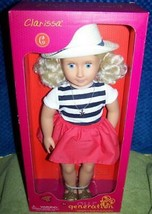 """Our Generation CLARISSA 18"""" Beach Girl Doll New - $39.88"""