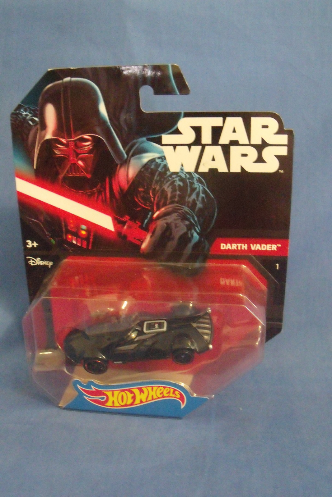Primary image for Toys Mattel NIB Hot Wheels Disney Star Wars Darth Vader Die Cast Car
