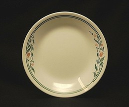 """Old Vintage Corelle By Corning Rosemarie Tulips 6-3/4"""" Bread & Butter Plate USA - $9.89"""
